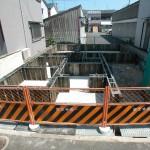 八尾新築一戸建て 養生工程