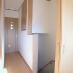 八尾新築一戸建て 2階廊下