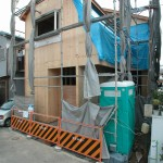 八尾新築一戸建て 外部工事